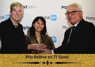 Prix Relève en TI Santé