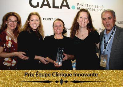 Prix Équpe Clinique Innovante