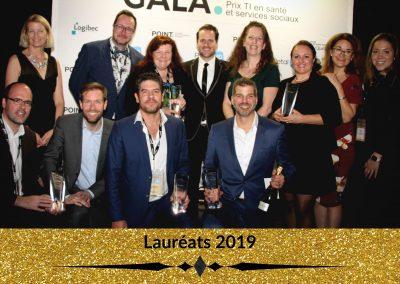 Lauréats 2019