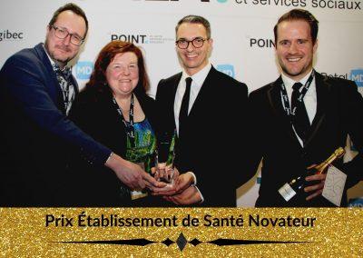 Prix Établissement de Santé Novateur