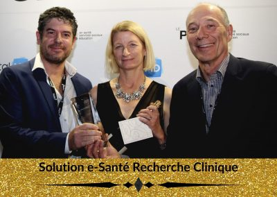 Prix Solution e-Santé Recherche Clinique